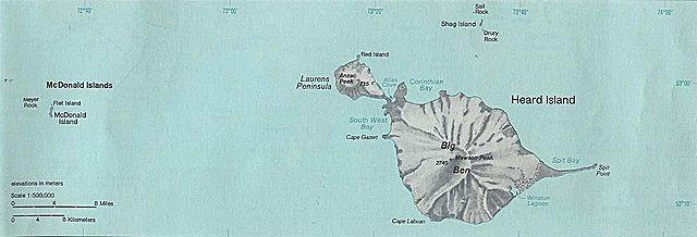 острова херда и макдональда