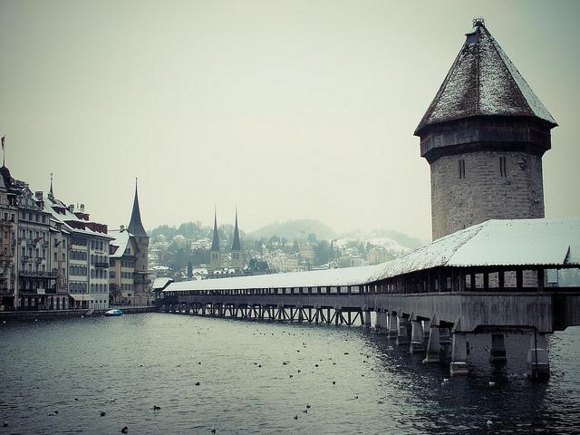 отдых зимой в европе