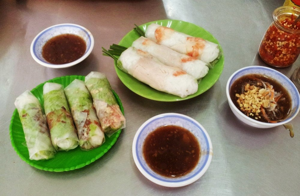 вкус вьетнама: spring rolls