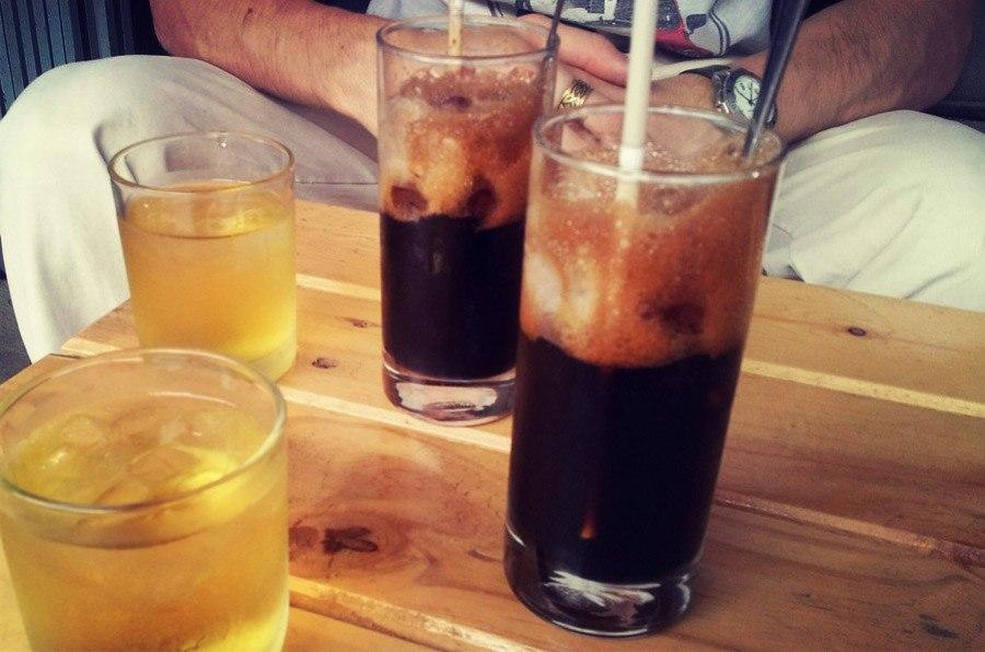 Вьетнамский кофе со льдом