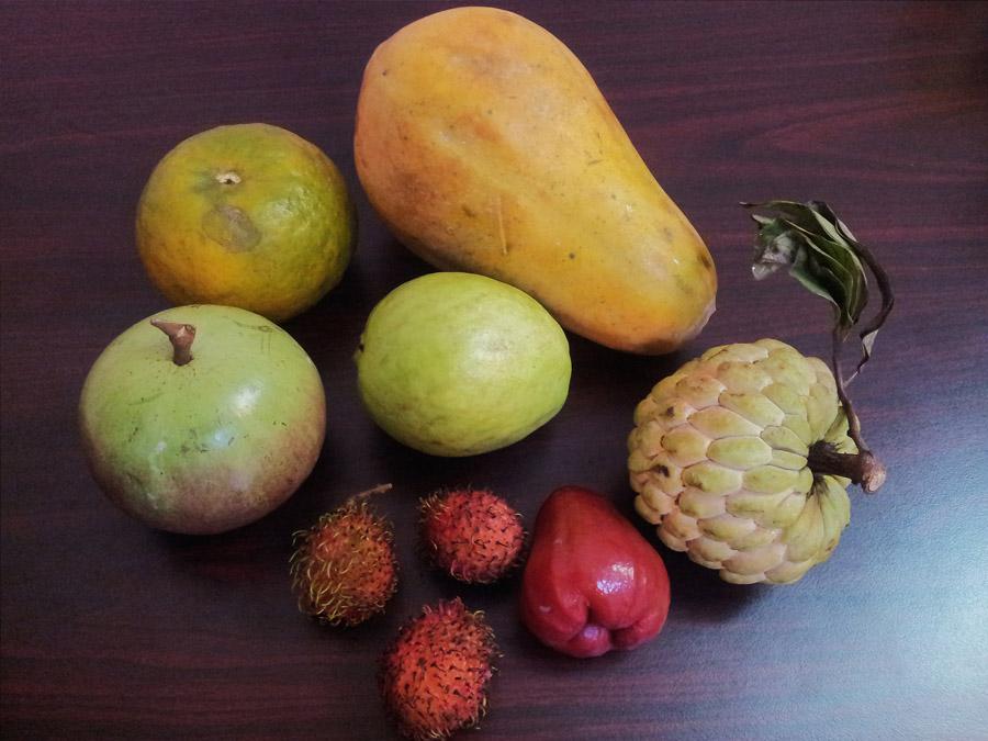 экзотические фрукты во вьетнаме