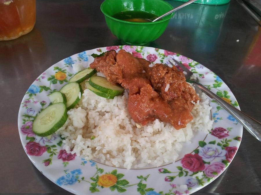 рис - основа еды во вьетнаме