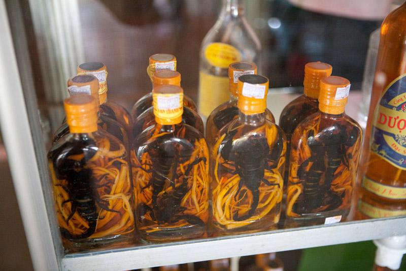 напитки во вьетнаме - медицинский ликер