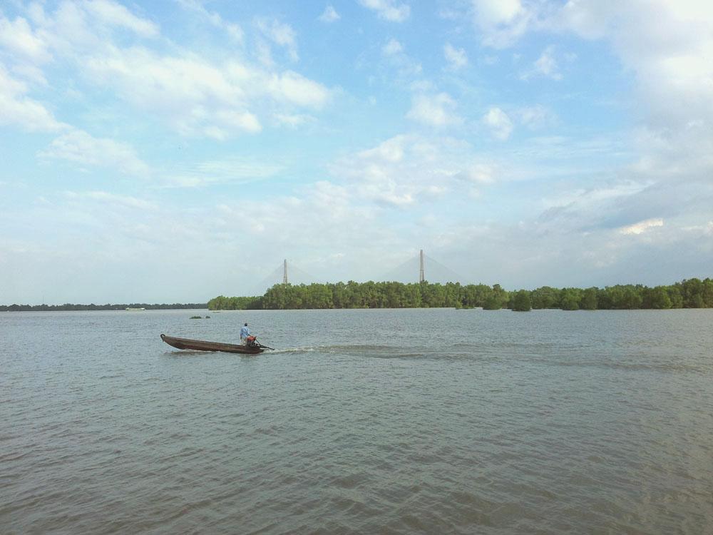 мост через меконг, кантхо