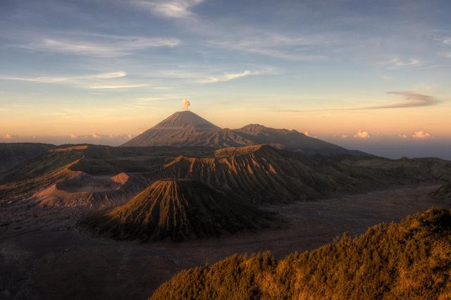 вулканы индонезии, путешествие