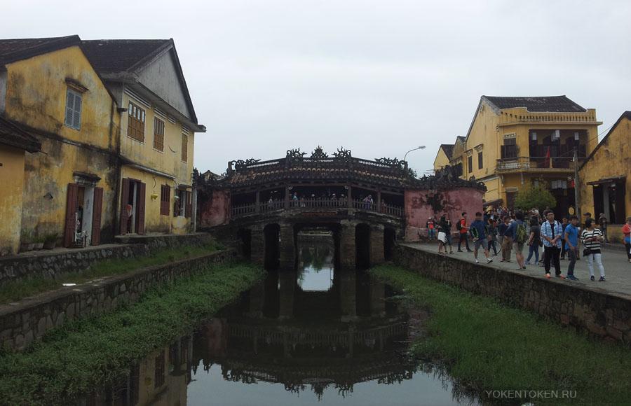 японский мост в хойане, hoian