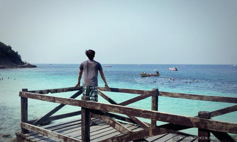 ко лан, патайя, тайланд, сиамский залив