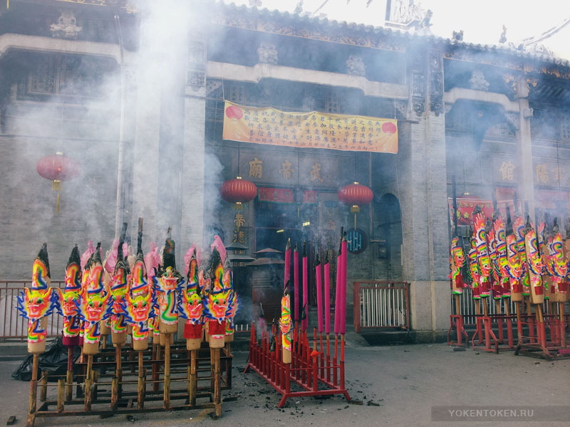 китайский храм на Пенанге