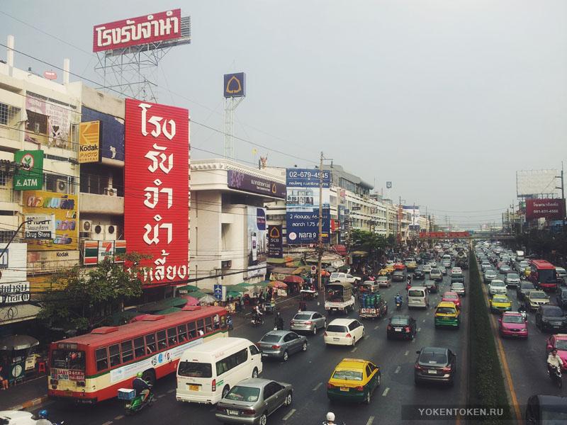 транспорт бангкок тайланд
