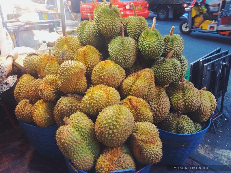дуриан фрукты таиланда азии вьетнама